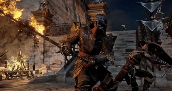 Dragon Age: Inquisition classes live with map