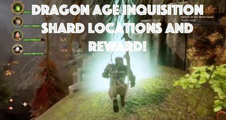 Dragon Age Inquisition Shard locations for Agony reward