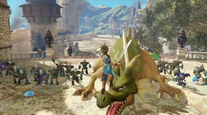 Dragon Quest Heroes PS4 Vs PS3 graphics
