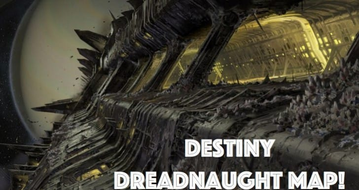 Destiny Dreadnaught map for Hall of Souls