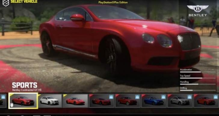 Driveclub PS Plus Edition list of 15 cars teased