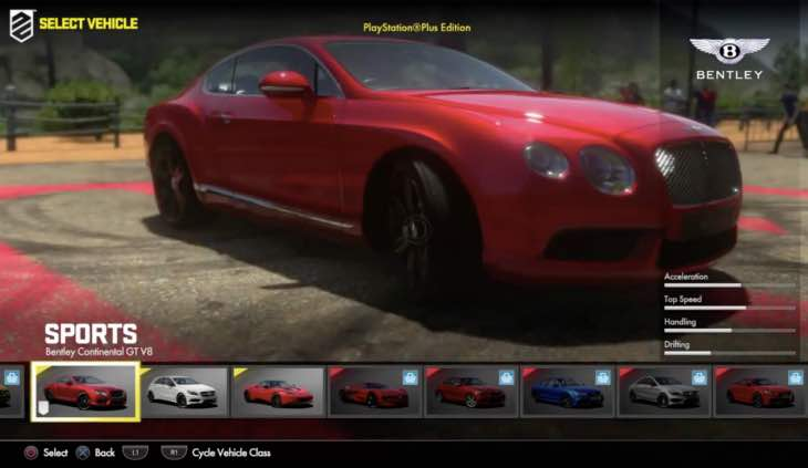 driveclub-ps-plus-bentley