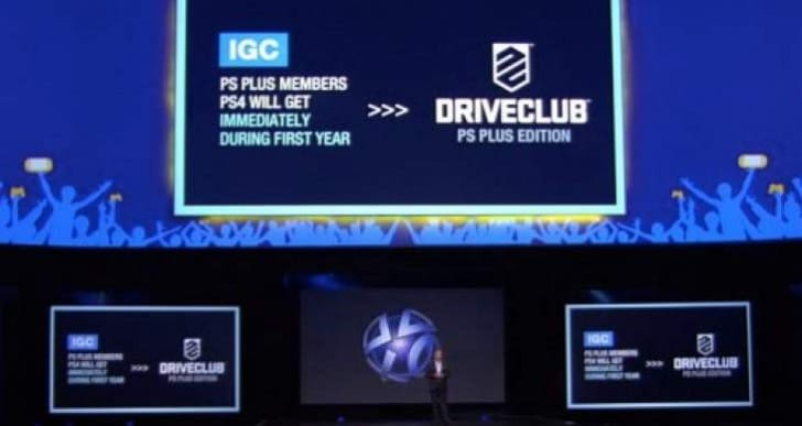 Driveclub 1.18 update with PS Plus free edition, 1.17 notes