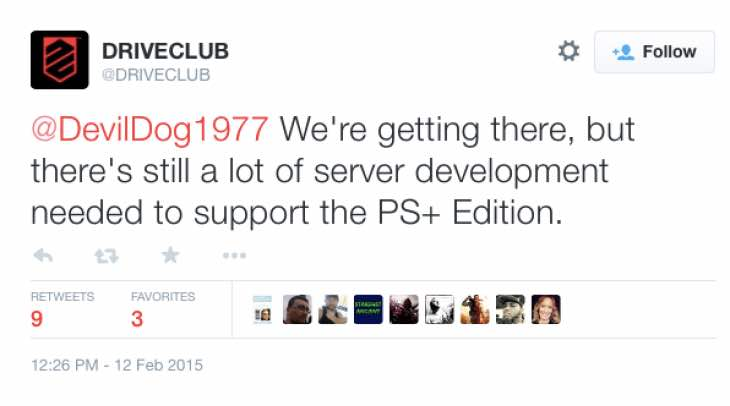 driveclub-ps-plus-server-development