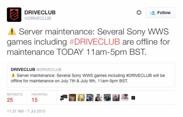 driveclub-server-maintenance-july-9