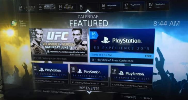 Watch Sony E3 live streams now on PS4