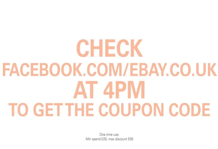 Ebay coupon code june 2018
