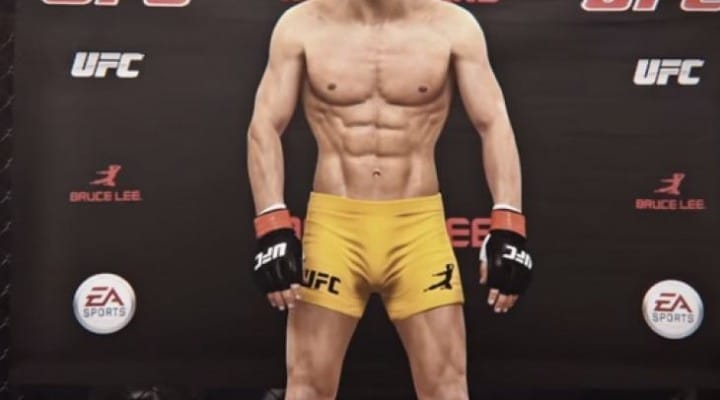 EA Sports UFC Bruce Lee stats hope