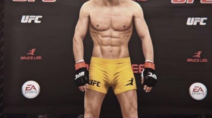 EA Sports UFC Bruce Lee stats hope