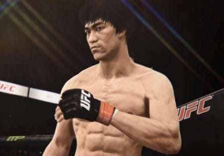 This year's UFC game will feature Bruce Lee.