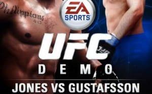 Jones vs Gustafsson 2 UFC 177 on EA SPORTS UFC demo