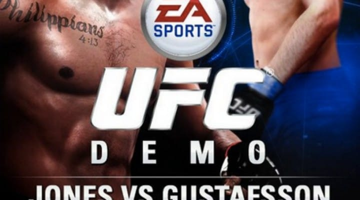 Jones vs Gustafsson 2 UFC 177 on EA SPORTS UFC demo