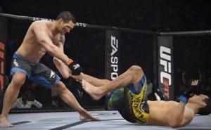 Wiedman Vs Machida prediction from EA Sports UFC