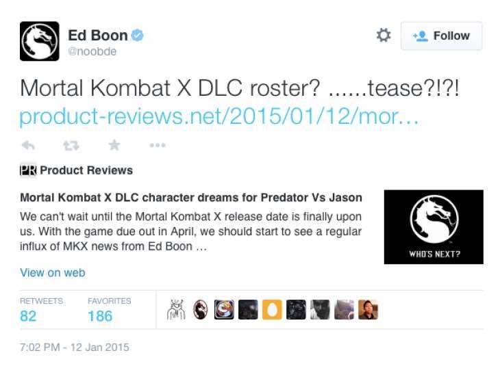 ed-boon-predator-rumor-tweet