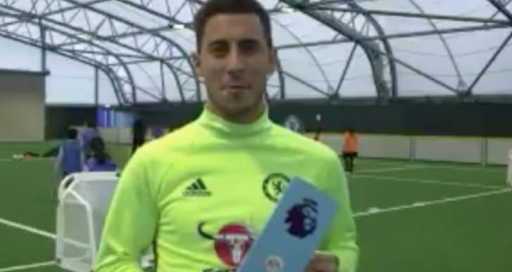 Eden Hazard SBC card unlock for PL Player of the Month