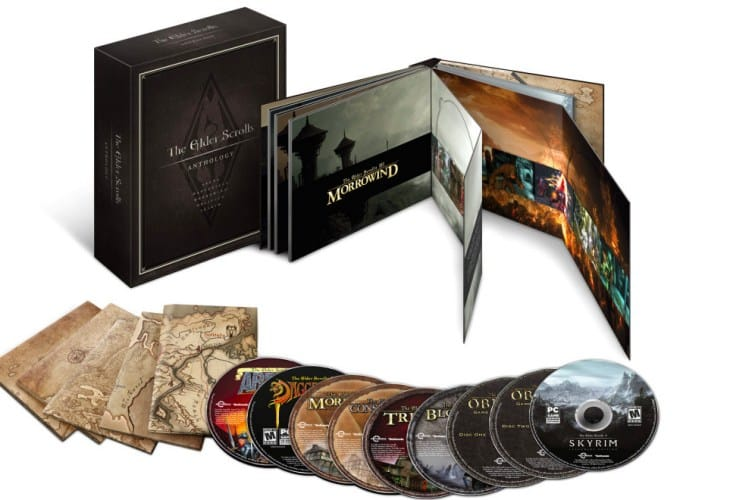 Elder Scrolls Anthology with DLC for ultimate fans