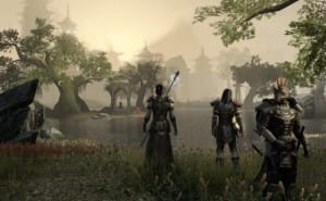 First Elder Scrolls Online PS4 raw gameplay