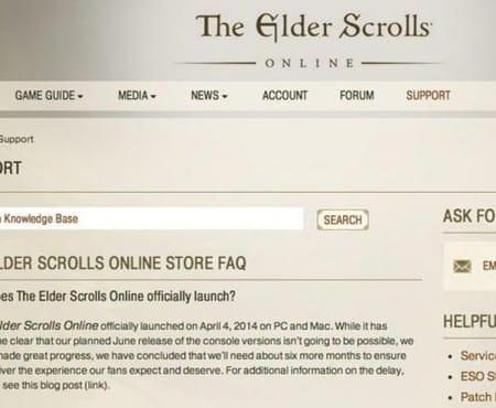 New Elder Scrolls Online PS4, Xbox One release date?