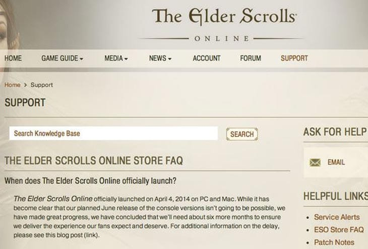 elder-scrolls-online-ps4-xbox-one-delay