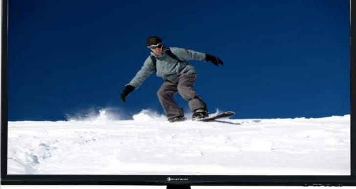 Element 40in Flat Panel LED TV HD review of specs