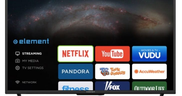 Element ELSJ4016 40-inch Smart TV review with WiFI warning