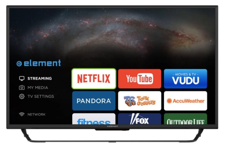 how to connect element smart tv to wifi