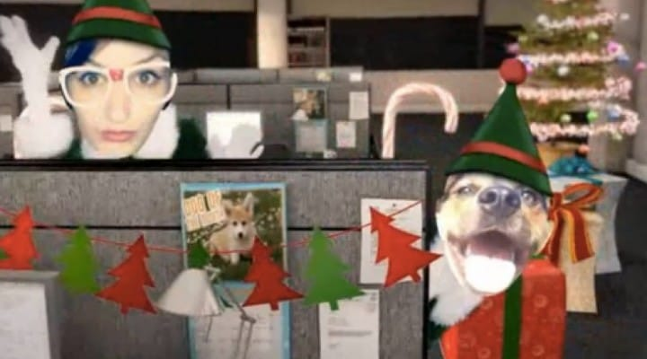 OfficeMax Elf Yourself Christmas dance videos