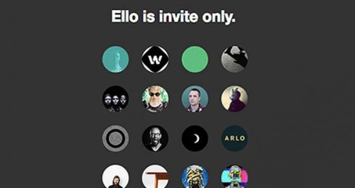 Ello app for iPhone and Android