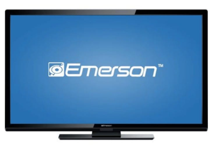 Emerson LF501EM4F 50-inch HDTV specs for gaming