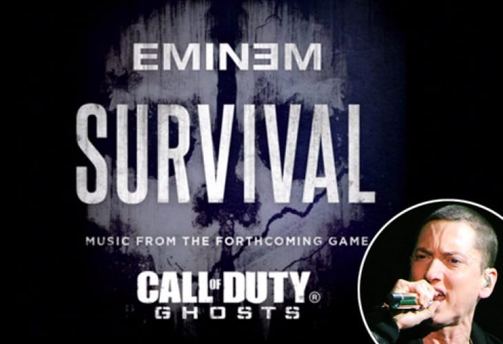 Call of Duty Ghosts perfect for Eminem fans