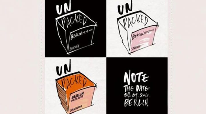 Samsung UNPACKED 2013 live video stream