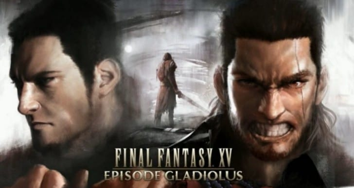 Final Fantasy XV Gladiolus DLC with Gilgamesh boss gameplay