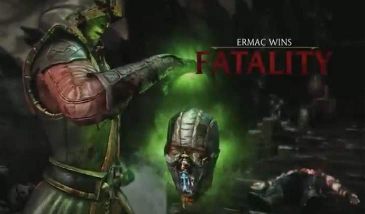 Ermac S Mortal Kombat X Fatality And Variations In Full