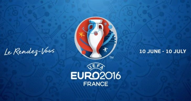 Printable Euro 2016 PDF TV schedule for UK