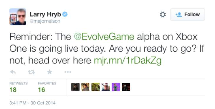 evolve-alpha-release-time