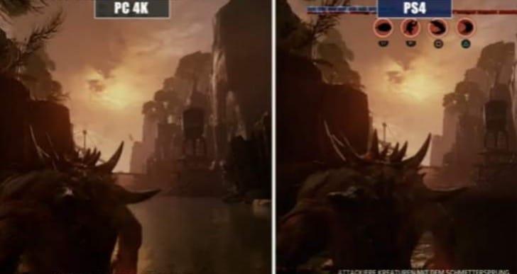 Evolve PS4 Vs Xbox One Vs PC graphics showdown
