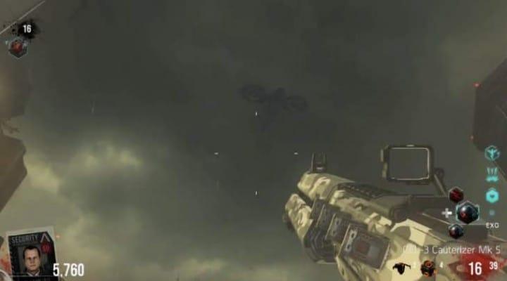 Exo Zombies Easter Egg cutscene with MK25 Diamond camo