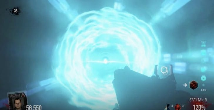 COD AW Exo Zombies Descent Easter Egg steps to Ending