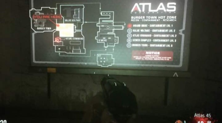Advanced Warfare Exo zombies Infection map revealed