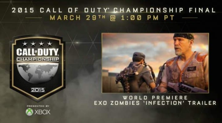 Advanced Warfare Zombies Infection trailer release time