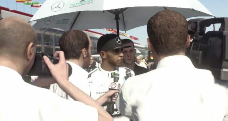 F1 2015 new release date with Lewis Hamilton teaser