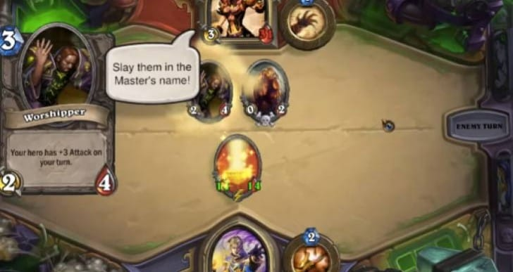 Hearthstone Heroic Faerlina made easy