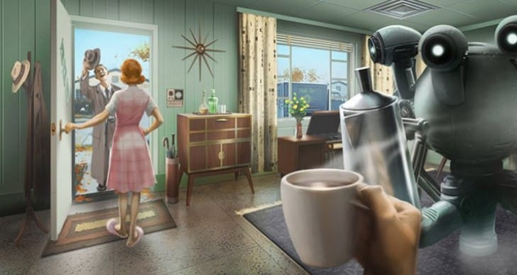 Fallout 4 1.3 update for PS4 and Xbox One today
