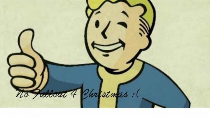 Fallout 4 news not coming for Christmas