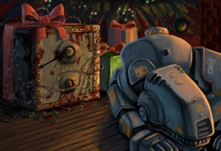 Fallout 4 clues from Christmas card