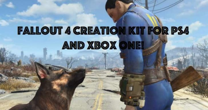 Fallout 4 Creation Kit for PS4, Xbox One