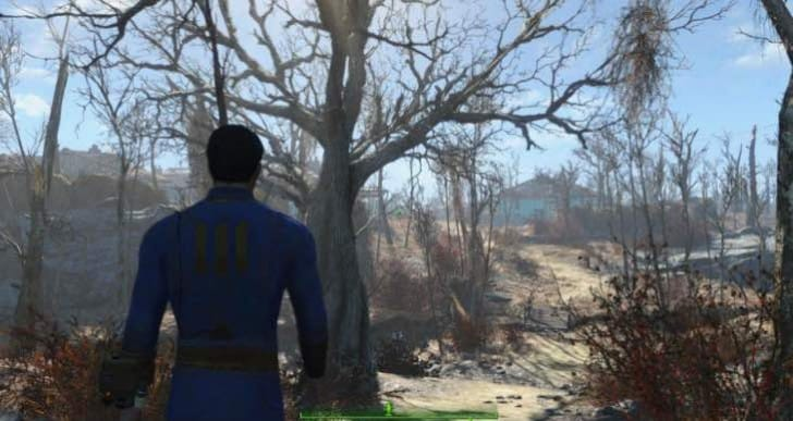 Fallout 4 gameplay focus, not amazing graphics