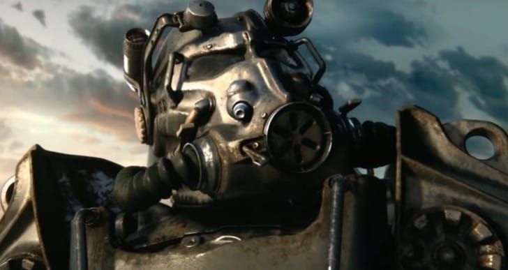 Fallout 4 trailer stars Dogmeat, Power armor heaven