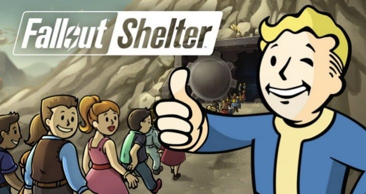 Fallout Shelter Xbox One countdown to download