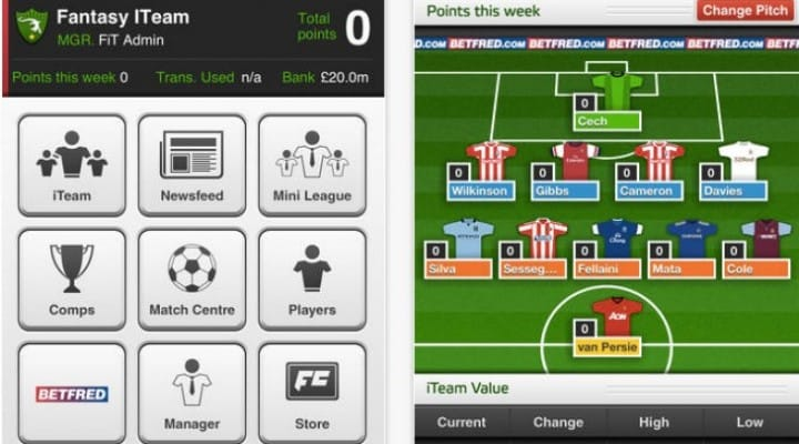 Fantasy Football Premier League apps fix for iPad